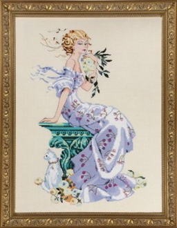 Mirabilia Designs Florentina MD138 design by Nora Corbett counted cross stitch pattern