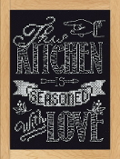 Design Works Crafts This Kitchen counted cross stitch picture kit