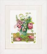Lanarte - Summer Bouquet Marjolein Bastin - counted cross stitch picture kit