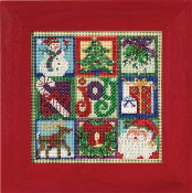 Mill Hill Christmas Counted cross stitch kit - Joy of Christmas