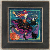 Mill Hill Autumn Series - Magic Brew halloween counted cross stitch kit