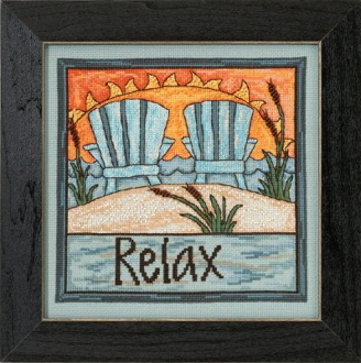 Mill Hill Sticks beaded counted cross stitch kit - Relax