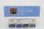 Mirabilia Designs Gwen NC220E Nora Corbett embellishment pack, Mill Hill Beads