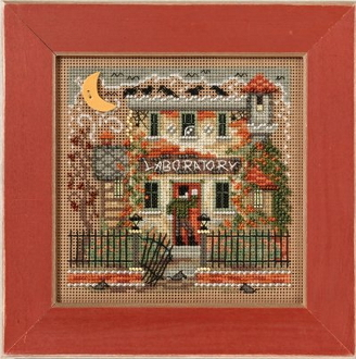 Mill Hill Autumn Series Haunted Laboratory Halloween beaded counted cross stitch kit