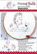 Red Brolly Forest Folk Hopscotch hand embroidery kit