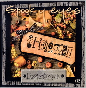 Lizzie Kate - Spooky Eyes K72 Halloween counted cross stitch kit
