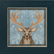 Mill Hill Counted cross stitch kit - Winter Stag