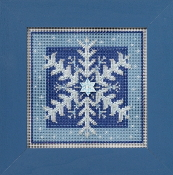 Mill Hill Counted cross stitch kit - Crystal Snowflake