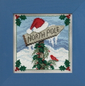 Mill Hill Christmas Counted cross stitch kit - North Pole