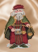 Mill Hill Renaissance Venice Santa MH20-1631 Christmas Ornament beaded counted cross stitch kit