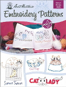 Aunt Martha's Embroidery patterns Clever Kitties - iron on transfers