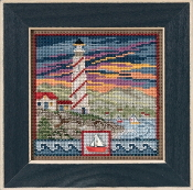 Mill Hill Spring Series Lighthouse beaded counted cross stitch kit