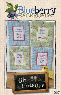 Blueberry Backroads - Oh Little One Hand Embroidery Patterns