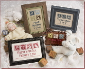 Lizzie Kate Oh Baby Counted cross stitch pattern chart
