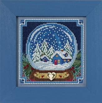 Mill Hill Christmas Counted cross stitch kit - Snow Globe