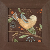 Mill Hill Out on a Limb Yellow Bird beaded counted cross stitch kit