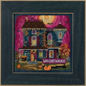 Mill Hill Autumn Series Wanda's Wands Halloween beaded counted cross stitch kit