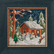 Mill Hill Christmas Cabin Counted cross stitch kit