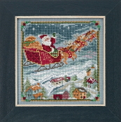 Mill Hill - To All a Goodnight MH17-1834 Christmas beaded counted cross stitch kit