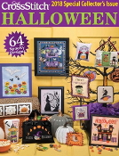 Just Cross Stitch special collector's issue Halloween 2018 magazine