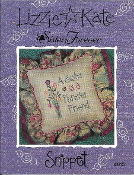 Lizzie Kate Snippet Sisters Forever counted cross stitch pattern