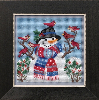 Mill Hill Winter Welcome Counted cross stitch kit