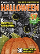 Just Cross Stitch 2020 Halloween magazine