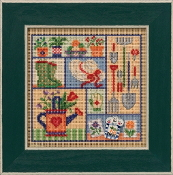 Mill Hill Spring Series Garden Sampler beaded counted cross stitch kit