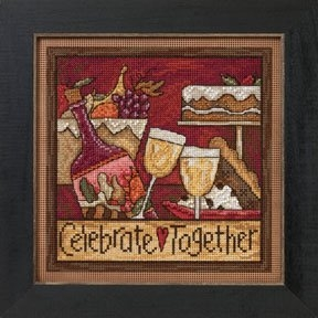 Mill Hill Sticks - Celebrate Together beaded counted cross stitch kit